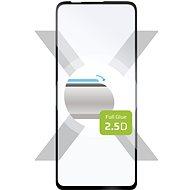 FIXED FullGlue-Cover pro Motorola Moto G 5G Plus černé - Ochranné sklo