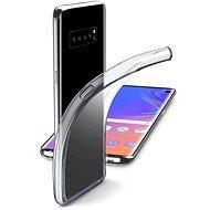 CellularLine Fine pro Samsung Galaxy S10 bezbarvý - Kryt na mobil