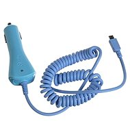 CELLY CCMICRO modrá - Nabíječka do auta
