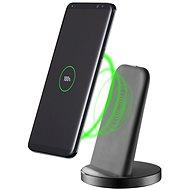 Cellularline Wireless Fast Charger Stand QI černý - Nabíjecí stojánek