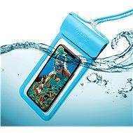 """CELLY Splash Bag 2019 pro telefony 6.5"""" modré - Pouzdro na mobilní telefon"""