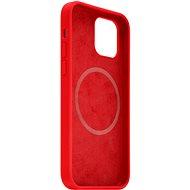 FIXED MagFlow s podporou MagSafe pro Apple iPhone 12 mini červený - Kryt na mobil