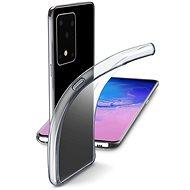 Cellularline Fine pro Samsung Galaxy S20 Ultra bezbarvý - Kryt na mobil