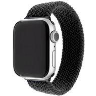 FIXED Elastic Nylon Strap pro Apple Watch 38/40mm velikost L černý - Řemínek