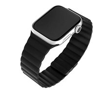 FIXED Silicone Magnetic Strap for Apple Watch 42mm/44mm, Black