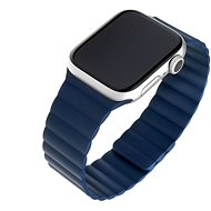 FIXED Silicone Magnetic Strap for Apple Watch 42mm/44mm, Blue