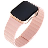 FIXED Silicone Magnetic Strap for Apple Watch 42mm/44mm, Pink