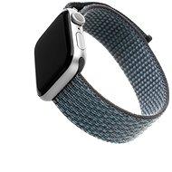 FIXED Nylon Strap pro Apple Watch 44mm/ Watch 42mm temně šedý - Řemínek