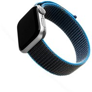FIXED Nylon Strap for Apple Watch 44mm / Watch 42mm Grey-Blue