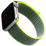 FIXED Nylon Strap for Apple Watch 44mm / Watch 42mm Dark Lime