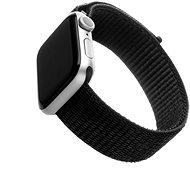 FIXED Nylon Strap pro Apple Watch 40mm/ Watch 38mm černý - Řemínek