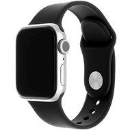 FIXED Silicone Strap SET pro Apple Watch 38 mm/40 mm černý