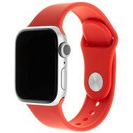 FIXED Silicone Strap SET pro Apple Watch 38 mm/40 mm červený