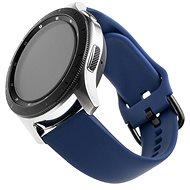 Řemínek FIXED Silicone Strap Universal pro smartwatch se šířkou 20mm modrý