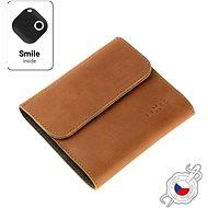 FIXED Smile Classic Wallet se smart trackerem FIXED Smile PRO hnědá - Peněženka