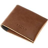 FIXED Smile Wallet se smart trackerem FIXED Smile PRO hnědá