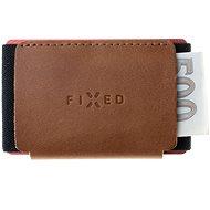 FIXED Tiny Wallet z pravé hovězí kůže hnědá