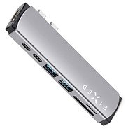 USB Hub FIXED HUB Mac 7IN1 pro MacBooky šedý