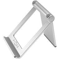 FIXED Frame Tab na stůl pro mobilní telefony a tablety stříbrný - Držák na mobilní telefon