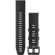 Garmin QuickFit 22 silikonový černý - Řemínek