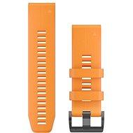 Garmin QuickFit 26 silikonový oranžový - Řemínek