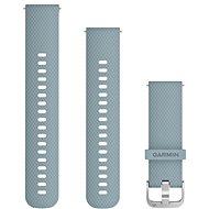 Garmin Quick Release 20 silikonový šedý (stříbrná přezka) - Řemínek
