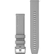 Garmin Quick Release 20 silikonový šedý (stříbrná přezka)