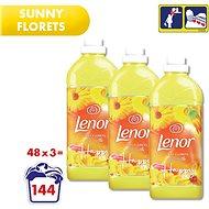 LENOR Sunny Florets 3× 1,42 l (144 praní)