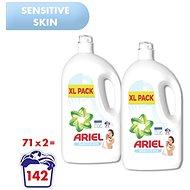 ARIEL Sensitive 2× 3,905 l (142 praní) - Prací gel