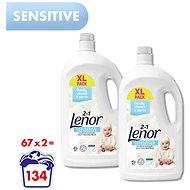 LENOR Sensitive 2× 3,685 l (134 praní) - Prací gel