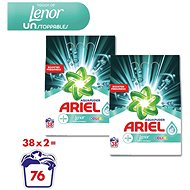 ARIEL Touch of Lenor Unstoppables 2× 2,85 kg (76 praní)