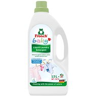 FROSCH Cotton Hypoallergenic washing gel for baby clothes 1500ml - Eco-friendly gel washing detergent