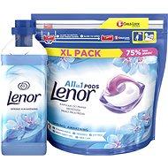 LENOR Spring Awakening kapsle 44 ks + aviváž 930 ml (31 praní)