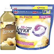 LENOR Gold Orchid kapsle 44 ks + aviváž 750 ml (25 praní )