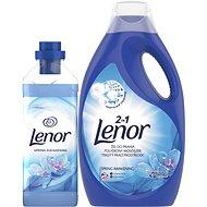 LENOR Spring Awakening prací prostředek 2,2 l (40 praní) + aviváž 930 ml (31 praní) - Sada drogerie