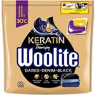 WOOLITE Black Darks Denim s keratinem 22 ks