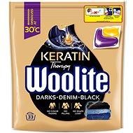WOOLITE Black Darks Denim s keratinem 33 ks