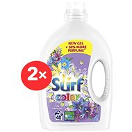SURF Color Iris & Spring Rose 2× 2,8 l (80 praní)