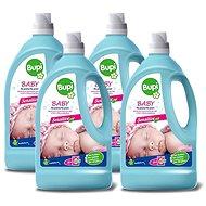 BUPI Baby Tekutý prací prostředek 4× 3 l (160 praní) - Prací gel