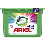 ARIEL Color 3in1 14 ks (14 praní) - Kapsle na praní