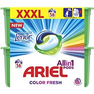 ARIEL Touch of Lenor All in 1 56 ks - Kapsle na praní