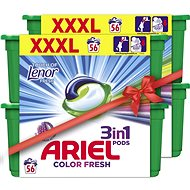 ARIEL Touch of Lenor 3in1 112 ks