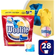 WOOLITE Mix Colors 28 ks - Kapsle na praní