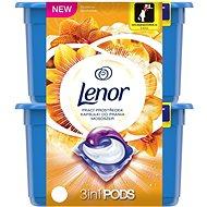 LENOR Silk Orchid 3v1 56 ks - Kapsle na praní
