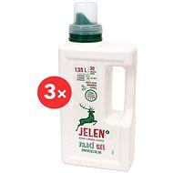 JELEN Prací gel univerzální 3× 1,35 l (90 praní)