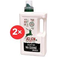 JELEN Prací gel na černé prádlo 2× 2,7 l (120 praní) - Eko prací gel
