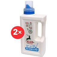 JELEN Na sport a pot 2×  1,35 l (60 praní) - Eko prací gel