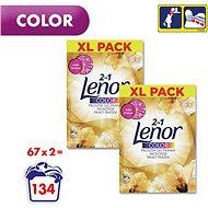 LENOR 2v1 Gold Orchid Color 2 × 5,025 kg (134 praní) - Prací prášek