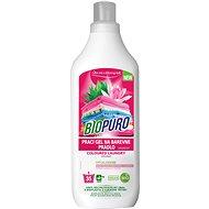 BIOPURO Organický tekutý prací gel na barevné prádlo 1 l (35 praní) - Eko prací gel