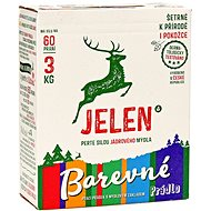 JELEN Powder for coloured 3 kg (60 wash) - Eco-friendly washing powder